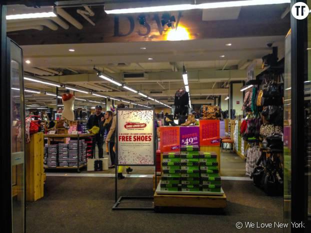 L'un des bons plans shopping à New York, DSW à Union Square