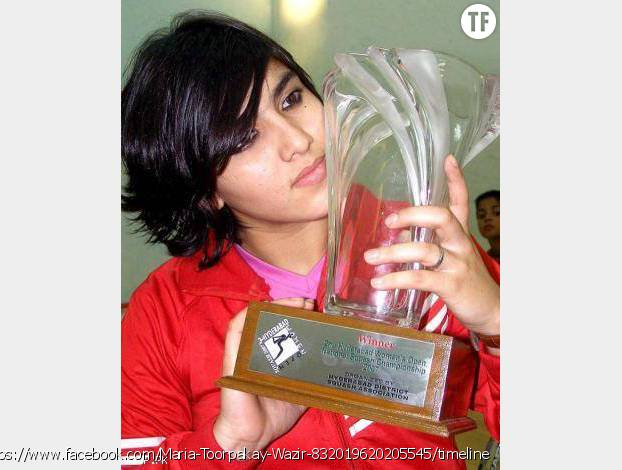Maria Toorpakai Wazir joue au squash en pro depuis 2006. Elle est actuellement n°1 au Pakistan