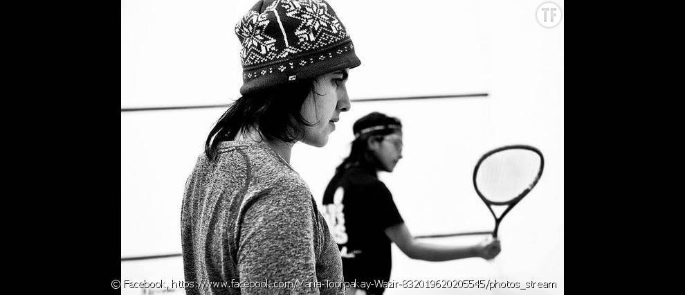 Maria Toorpakai Wazir: la championne de squash déguisée en homme pour exercer sa passion (photo de  cleeimages  )