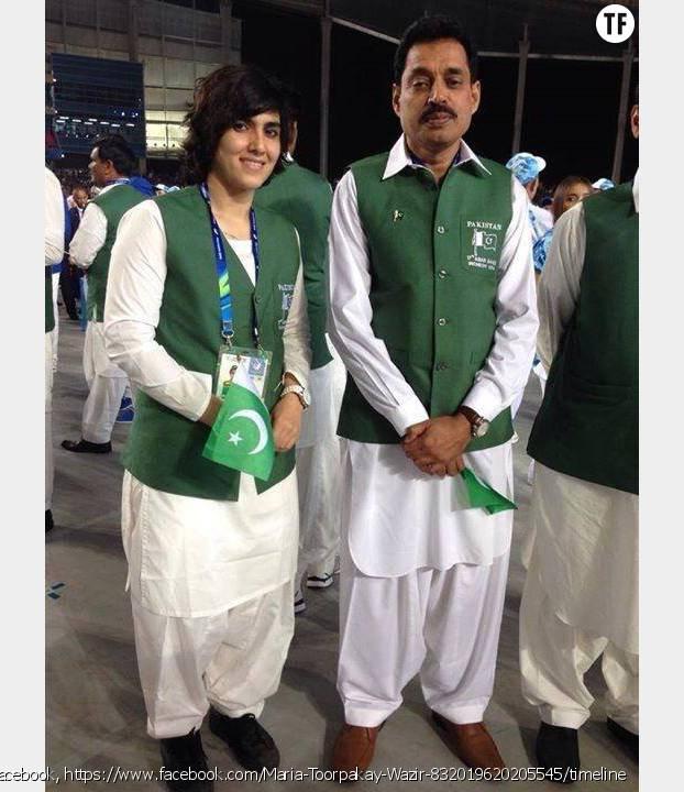 Maria Toorpakai Wazir représente le Pakistan au Asian Games en squash