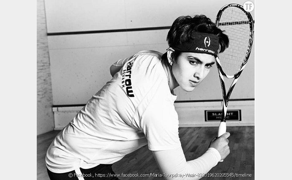 L'incroyable histoire de Maria Toorpakai Wazir, la pakistanaise qui s'est déguisée en homme pour pouvoir jouer au squash (photo de cleeimages)