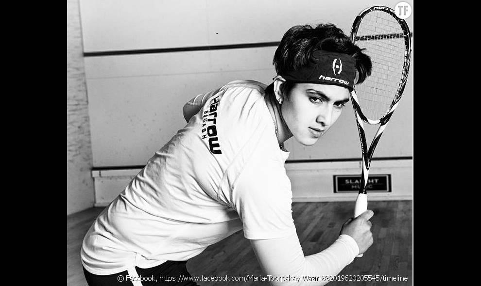 L'incroyable histoire de Maria Toorpakai Wazir, la pakistanaise qui s'est déguisée en homme pour pouvoir jouer au squash (photo de  cleeimages )