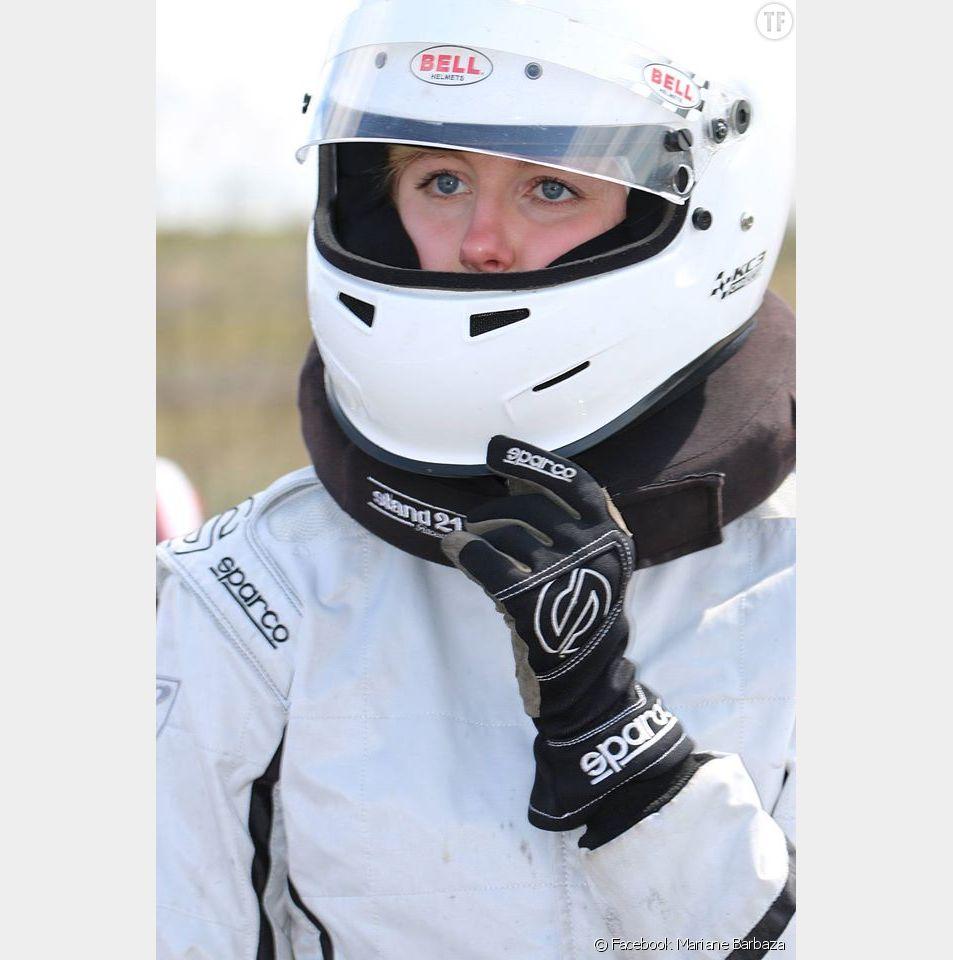 La jeune Mariane Barbaza, lycéenne et jeune pilote de karting