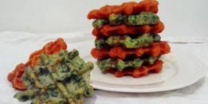 La délicieuse recette des gaufres vertes aux herbes fraîches