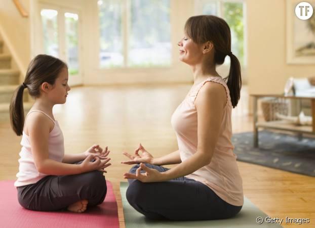 Un moment zen en famille