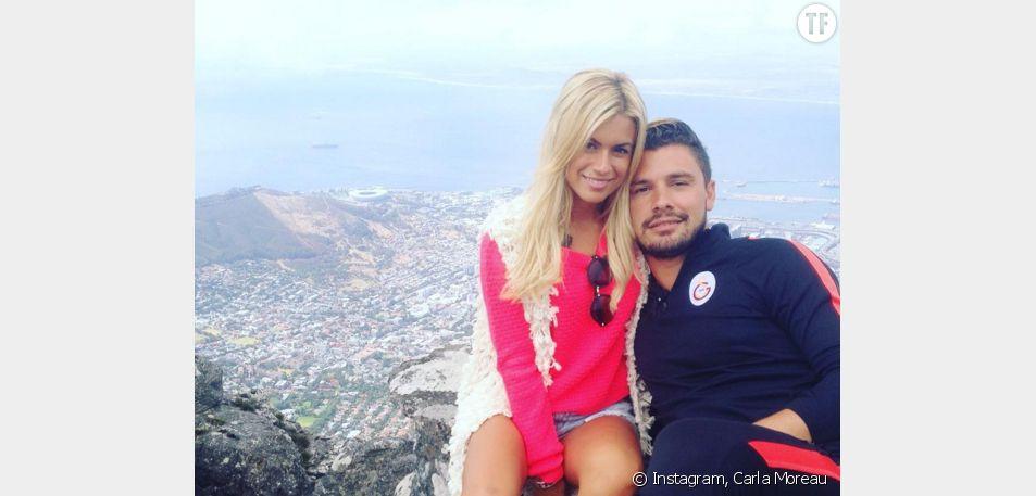 Le couple Carla et Kevin des Marseillais South Africa