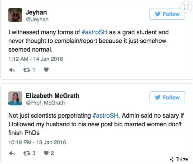 #Astrosh: un hashtag pour lutter contre le harcèlement sexuel dans l'astrophysique