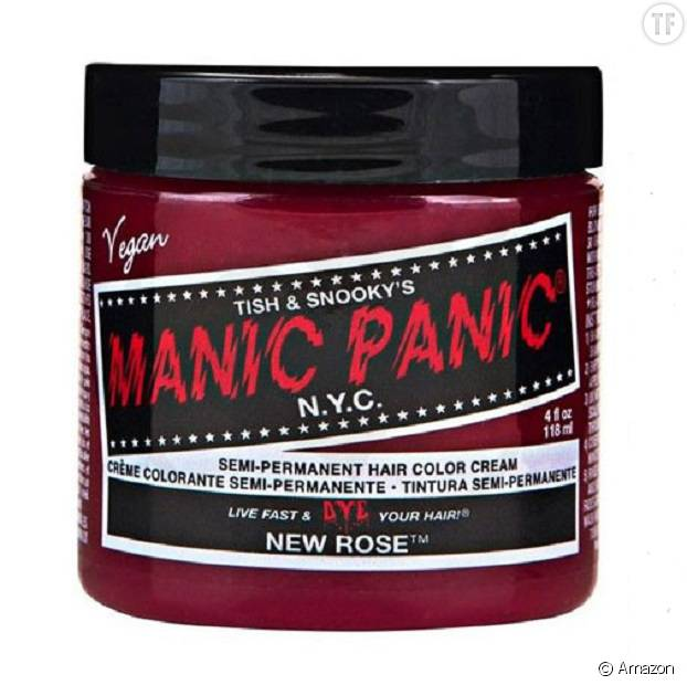 Coloration semi-permanente rose Manic Panic