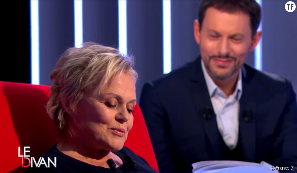Le Divan de Marc-Olivier Fogiel - émission du mardi 19 avril avec Muriel Robin