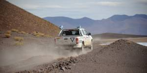 Trophée Roses des Andes 2016 JT n°5 : l'étape Abra Pampa-Susques