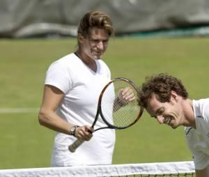 Amélie Mauresmo enceinte en juin 2015 entraîne Andy Murray