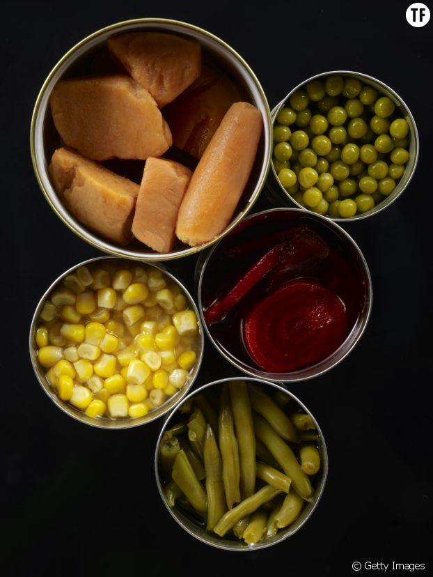 Les légumes en conserve sont souvent bourrés de sucre, de sel et de conservateurs