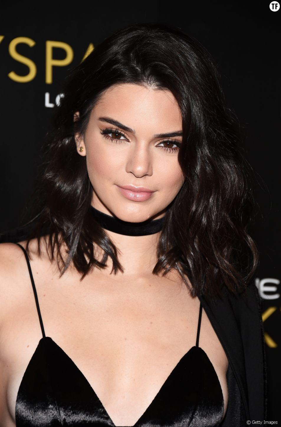 Kendall Jenner et ses ondulations wavy