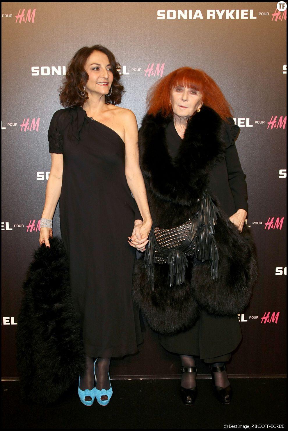 Sonia Rykiel et sa fille Nathalie