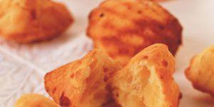 La recette ultra-facile des madeleines au fromage de chèvre