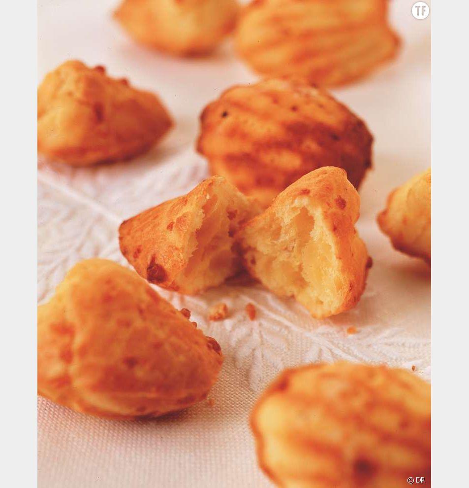 La recette des madeleines salées au fromage de chèvre