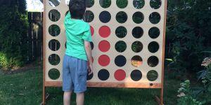 Comment construire un jeu de Puissance 4 géant : mode d'emploi