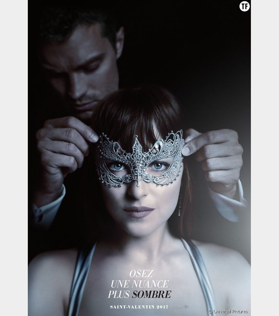 Affiche officielle de Cinquante nuances plus sombres - Fifty Shades Darker