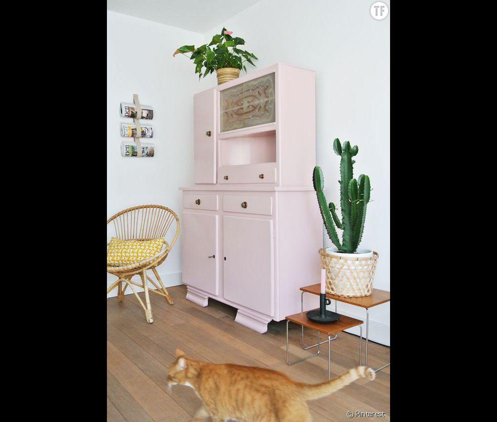 Idée déco n°10 : des cactus dans un intérieur pastel