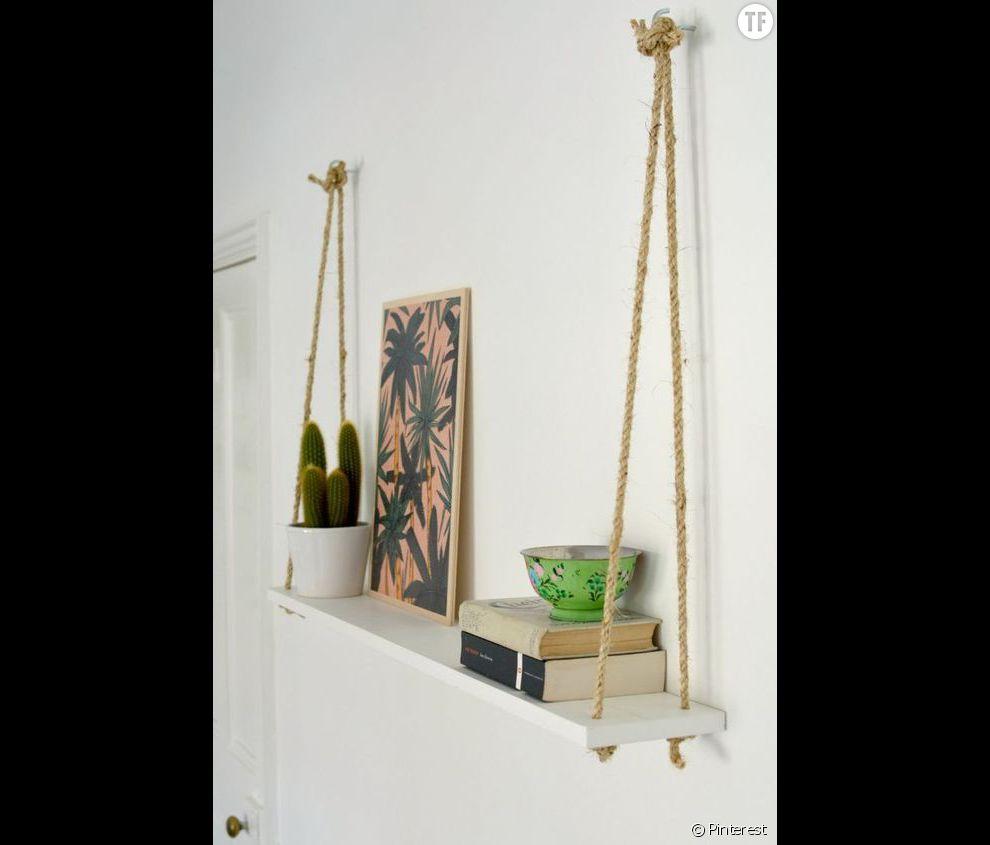 Idée déco n°23 : un cactus sur une jolie étagère