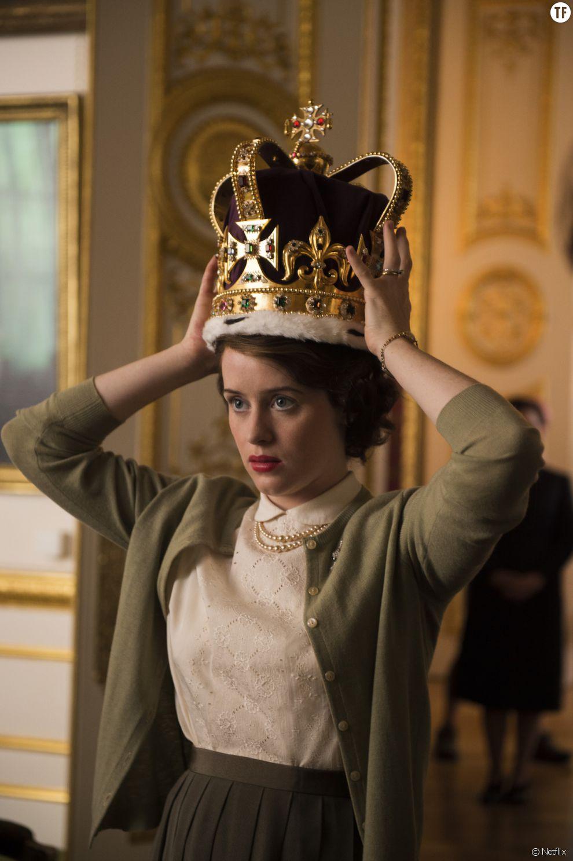 La série The Crown sur Netflix