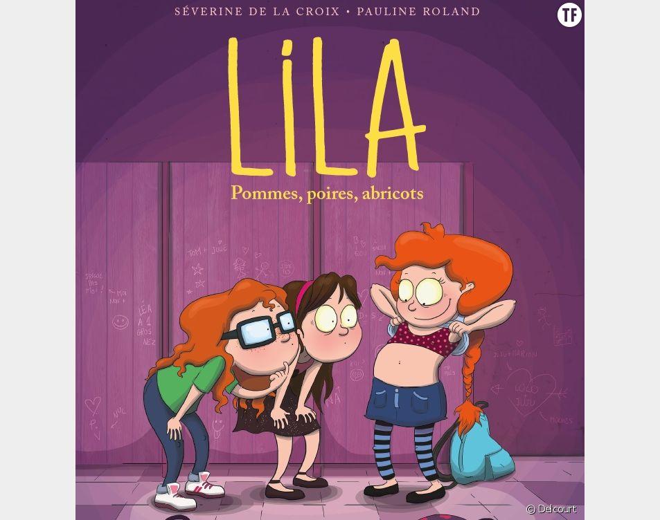 """""""Lila. Pommes, poires, abricots"""", la BD qui aborde la puberté avec humour"""