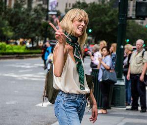 Fashion Week  : les plus beaux looks repérés chez les fashionistas new-yorkaises