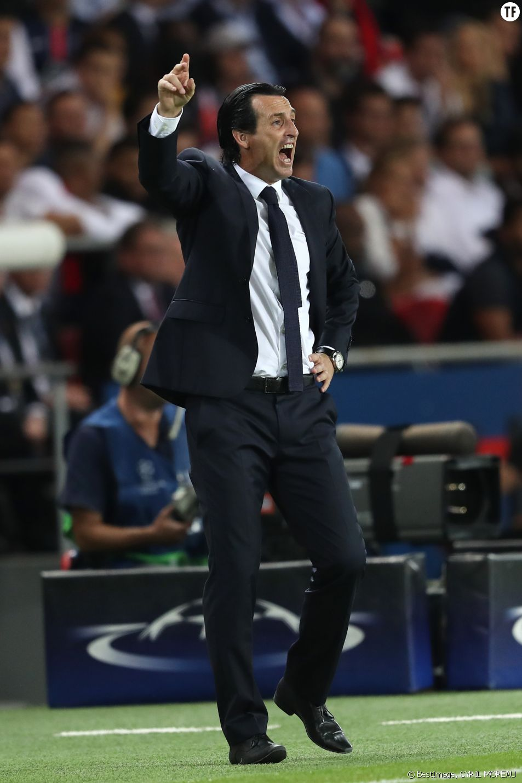 Unai Emery, entraineur du PSG