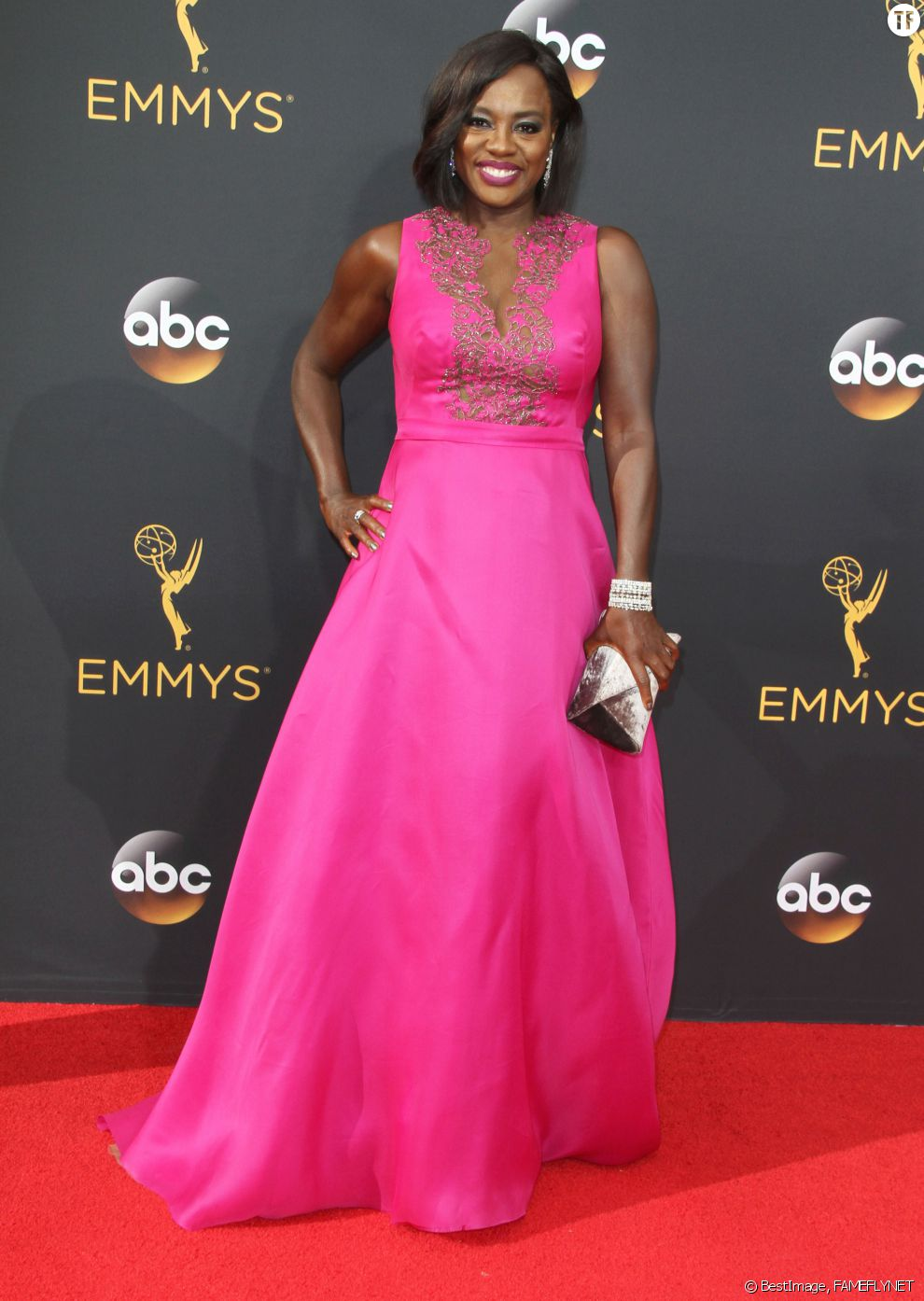 Viola Davis à la 68ème cérémonie des Emmy Awards à Los Angeles, le 18 septembre 2016