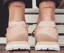 Inspiration tatouage : 20 jolies citations à se faire graver dans la peau
