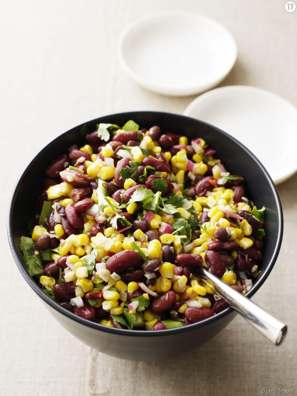 Une salade gourmande et healthy