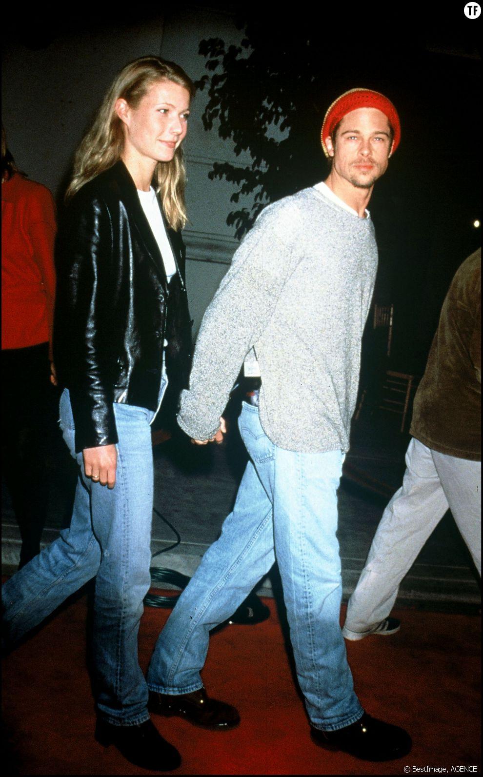 Brad Pitt et son ex-compagne Gwyneth Paltrow