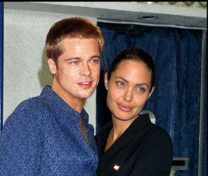 Brad Pitt et son ex-femme Angelina Jolie en 2005