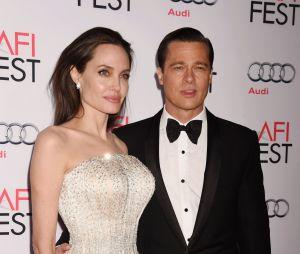 Brad Pitt et Angelina Jolie en 2015