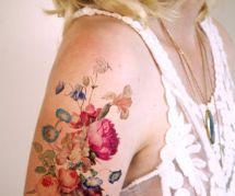 Tatouages aquarelle : 25 idées inspirantes repérées sur Pinterest