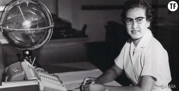 La scientifique Katherine Johnson