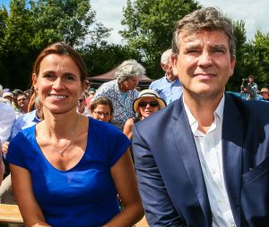 Arnaud Montebourg et sa compagne Aurélie Filippetti