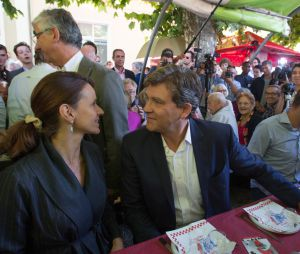 Aurélie Filippetti et son compagne Arnaud Montebourg
