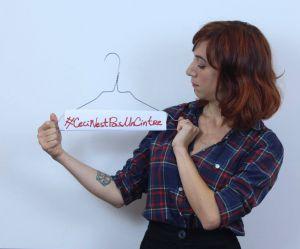 """""""Ceci n'est pas un cintre"""" : la campagne choc et nécessaire pour le droit à l'avortement"""