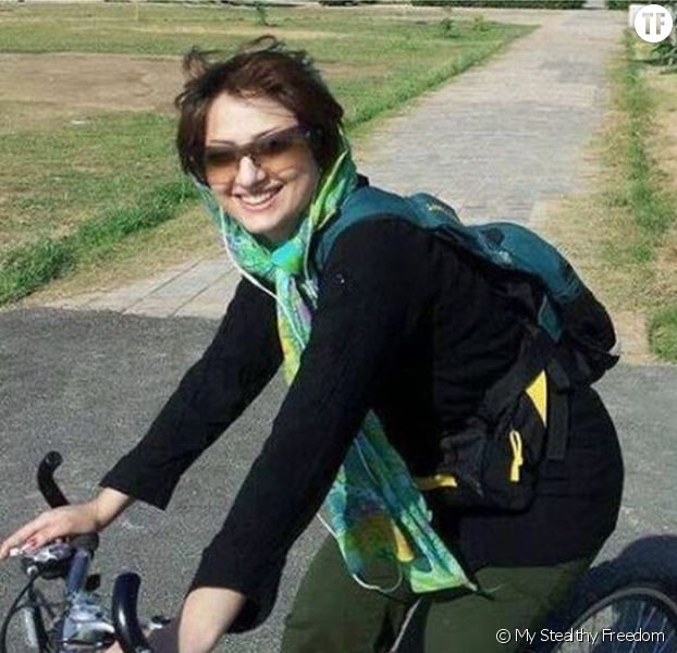 Les Iraniennes à vélo pour My Stealthy Freedom