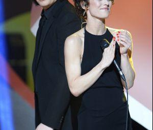Vanessa Paradis et son ex-compagnon Benjamin Biolay en 2014