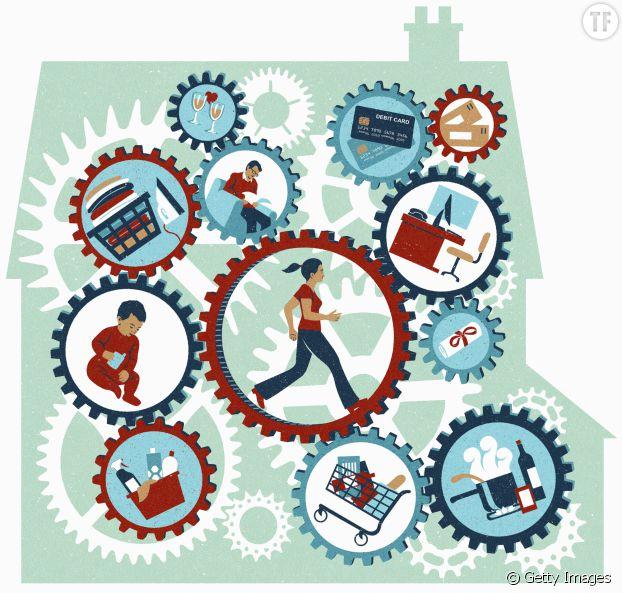 Les femmes travaillent quatre années de plus que les hommes... à cause des tâches ménagères