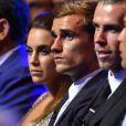 Antoine Griezmann et sa compagne Erika lors du tirage au sort de l'UEFA Champions League à Monaco, le 25 août 2016