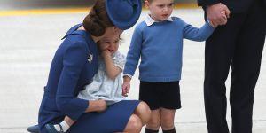 La technique de Kate Middleton pour calmer un enfant grincheux