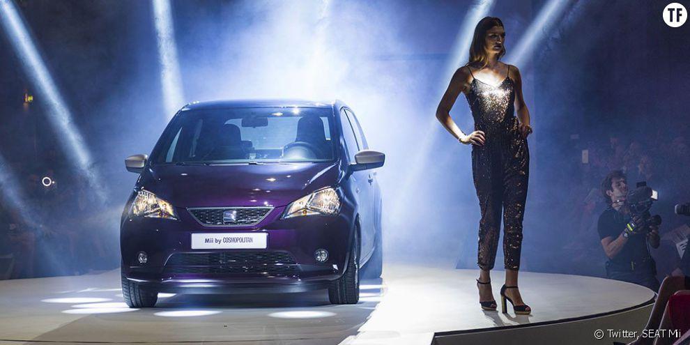 """La SEAT Mii designée par Cosmopolitan : une voiture """"pour les femmes"""" qui véhicule de jolis clichés sexistes"""