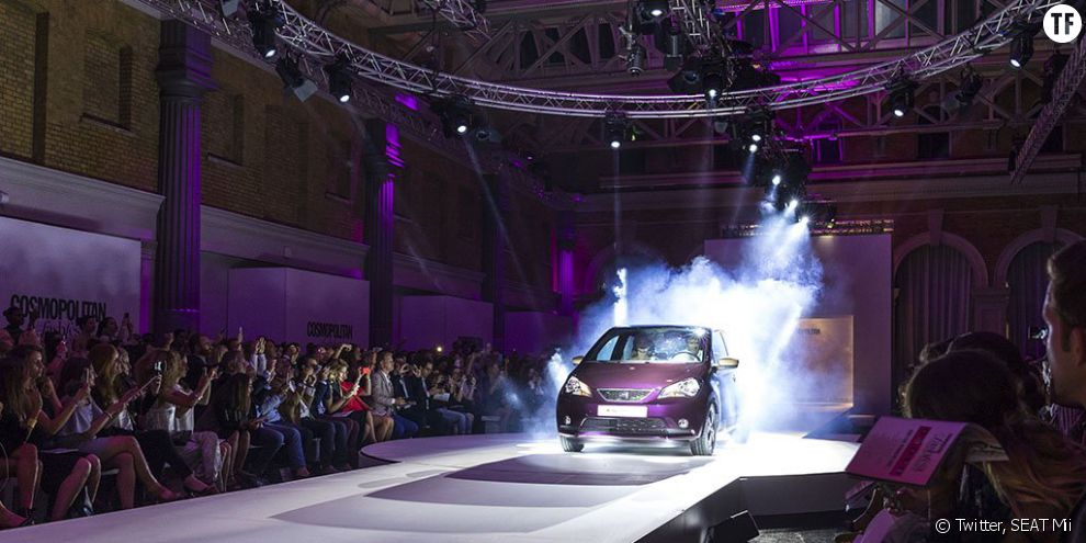 La présentation de la SEAT Mii par Cosmopolitan au FashFest de Londres
