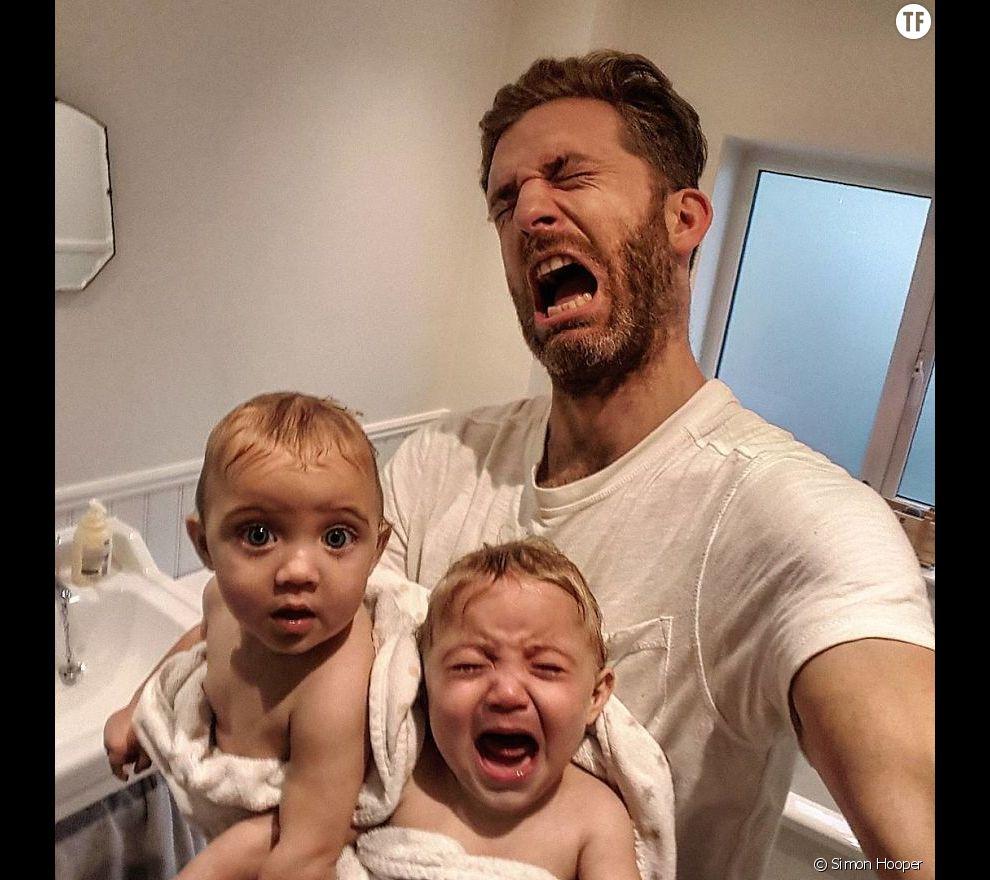 Simon hooper p re de 4 enfants d voile les dessous de la for Les problemes de la famille nombreuse