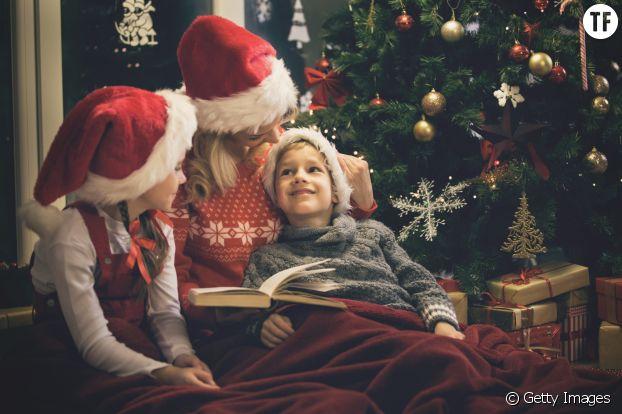 Tradition de Noël : lire en famille