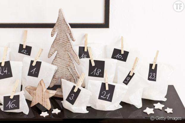 Tradition de Noël : calendrier de l'Avent DIY