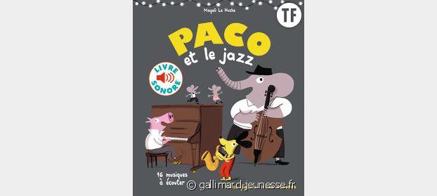 Livre sonore Paco et le jazz